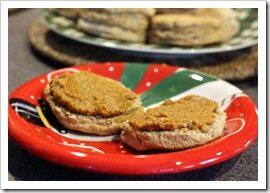 eggnog spice biscuit