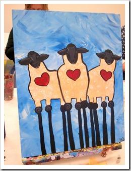 Sheep Finished - Heather