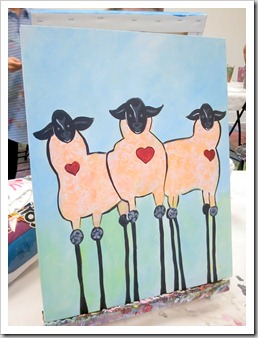 Sheep Finished - Jean