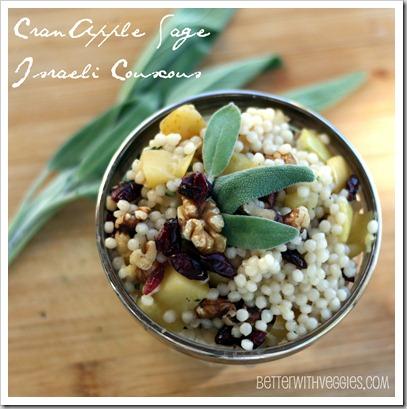 CranApple Sage Israeli Couscous
