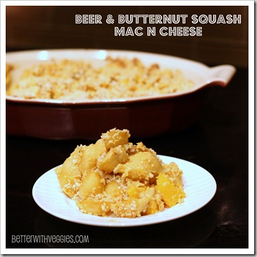 Beer & Butternut Squash Mac N Cheese