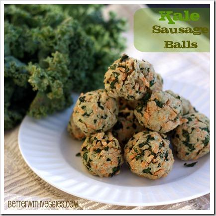 Kale Sausage Balls
