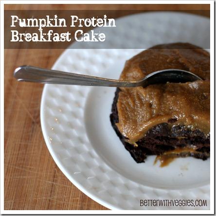 Pumpkin Protein Breakfast Cake