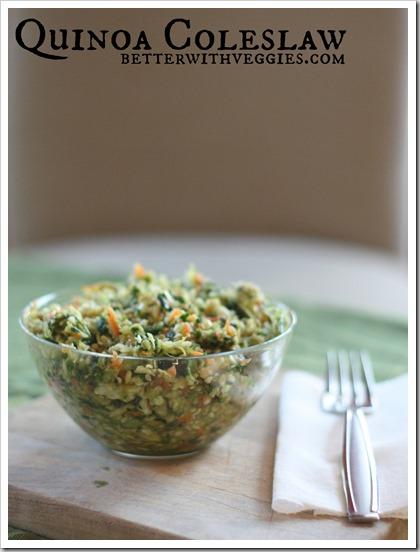 Quinoa Coleslaw