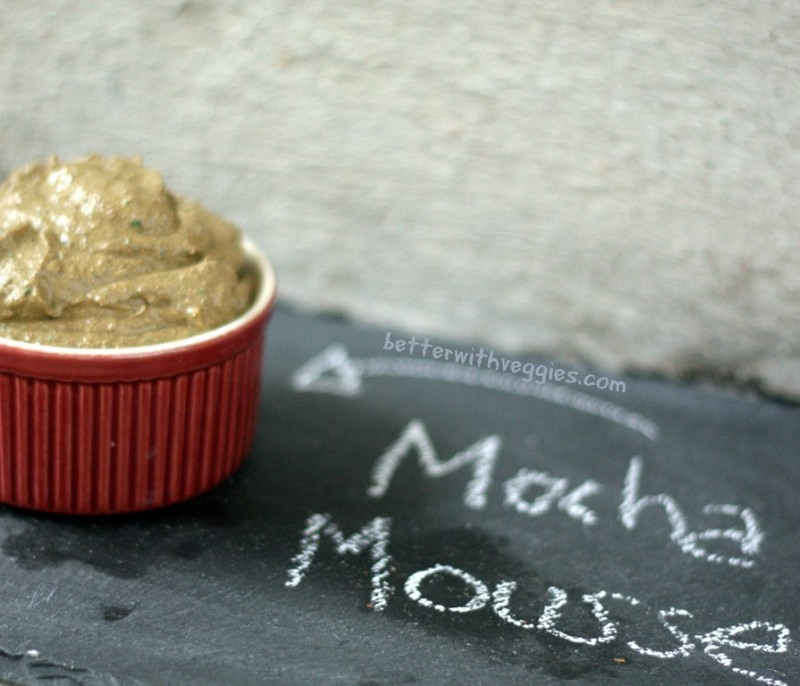 Healthy Mocha Mousse {MMAZ #44}