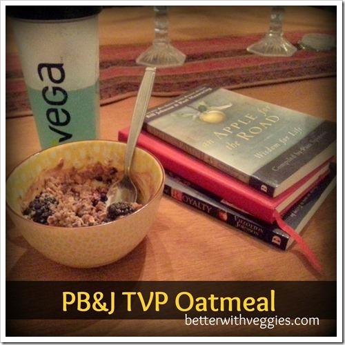 PBJ TVP Oatmeal