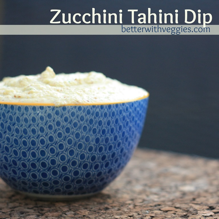 Zucchini Tahini Dip {MMAZ #51}