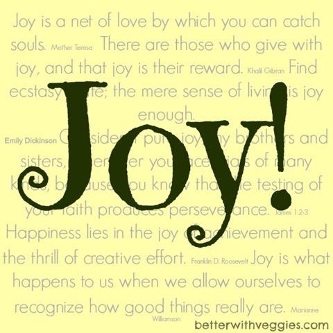 Joy in 2014