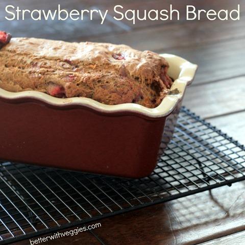 Strawberry Squash Bread