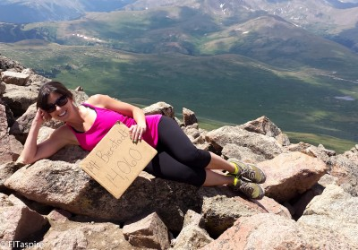 Yoga on the Rocks + Hiking Mt Bierstadt || FITaspire.com