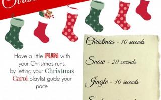 Christmas Carol Speedplay (Running Workout)