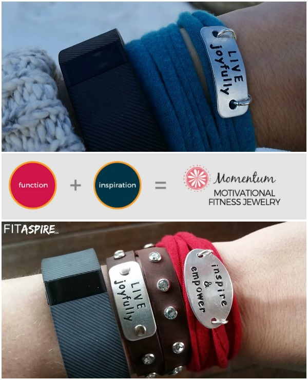 Momentum Motivational Fitness Jewelry {+Giveaway}