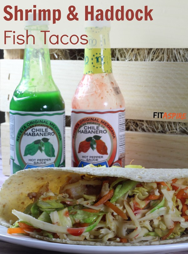 Shrimp + Haddock Fish Tacos
