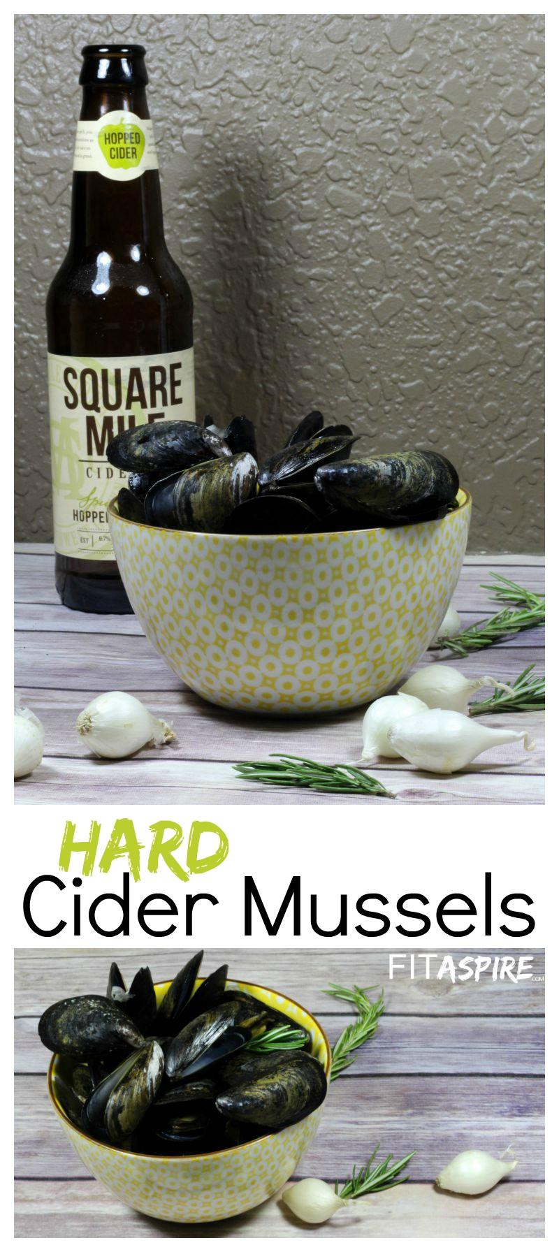 Hard Cider Mussels
