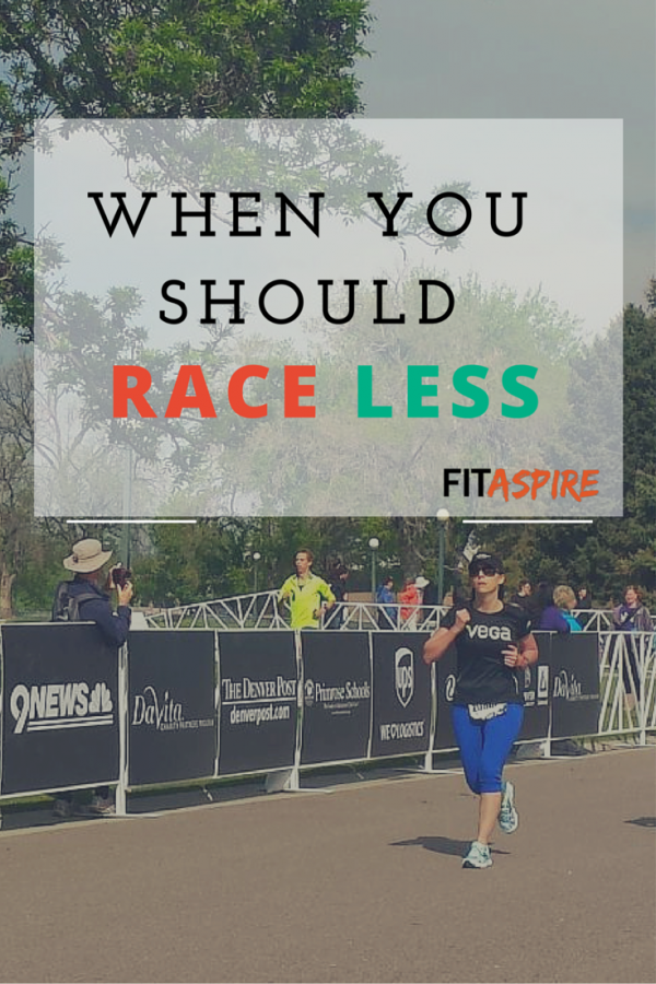 Should you race less? 4 reasons you may need to pull back this year.