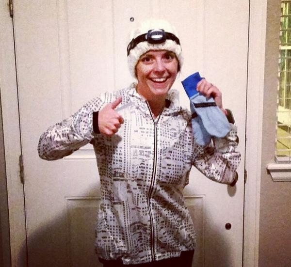 Winter Running - Jacket, Hat, & Gloves