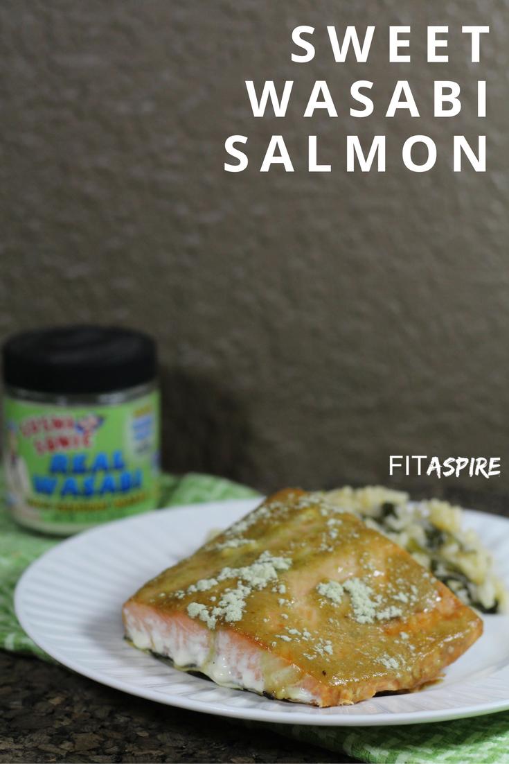 Sweet Wasabi Atlantic Cod Recipe